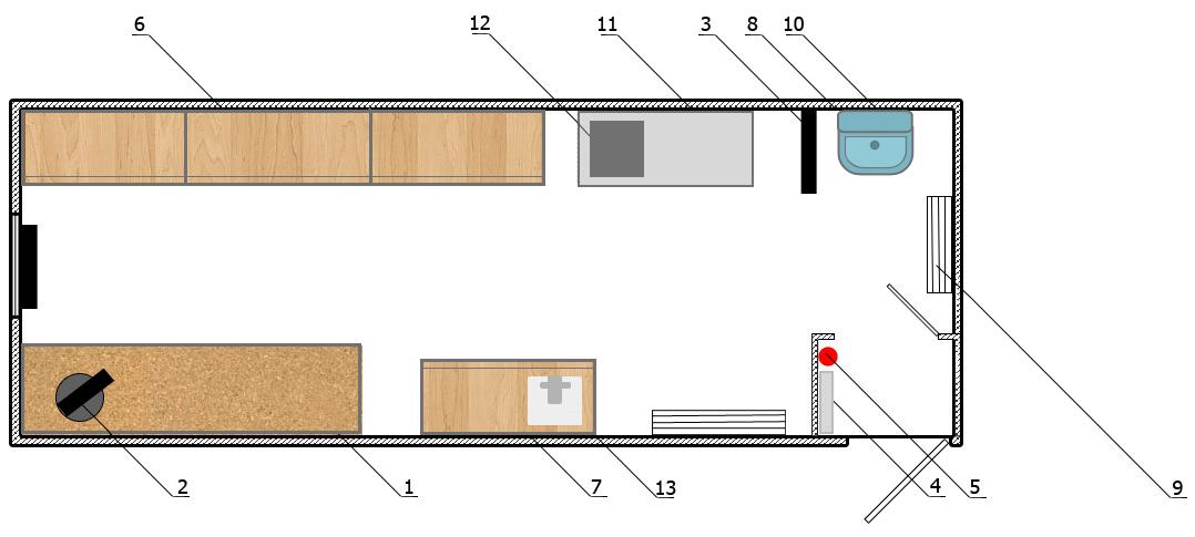 Инструментальная мастерская (8000×2500)